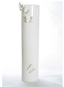 Polly George Ceramics Butterfly Collection Vase - Large
