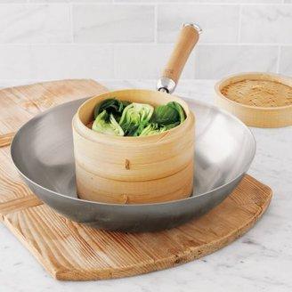 """Sur La Table Joyce Chen Carbon Steel Stir-Fry Pan, 12"""""""