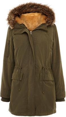 Oasis Faux Fur Lined Parka