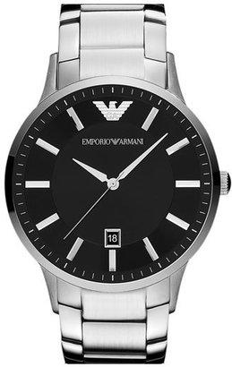 Men's Emporio Armani Round Bracelet Watch, 43Mm $245 thestylecure.com