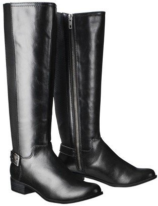 Merona Women's Kimberely Riding Boots - Black