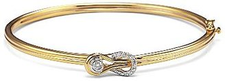 JCPenney Diamond Knot Bangle 1/5 CT. T.W.