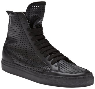 Maison Martin Margiela Perforated high top sneaker