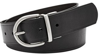 Women's Fossil Reversible Metal Keeper Leather Belt $44 thestylecure.com