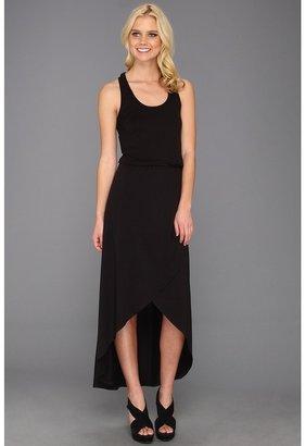 Splendid Tulip Hem Dress (Black) - Apparel
