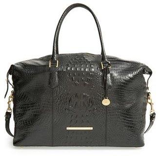 Brahmin 'Duxbury' Leather Travel Bag - Black $495 thestylecure.com