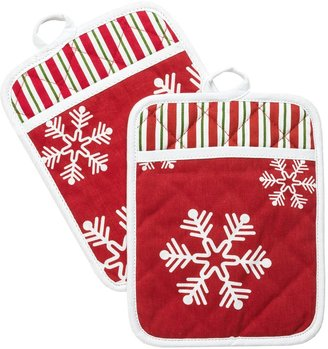 Waverly Traditions by Holiday Pot Holders - Set of 2