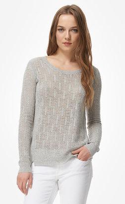 Rebecca Taylor Mesh Crew Sweater