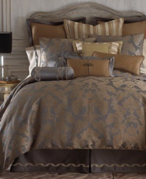 Waterford Closeout! Reversible Walton Queen 4-Pc. Comforter Set Bedding