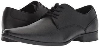 Calvin Klein Brodie (Black Small Tumbled Leather) Men's Lace up casual Shoes