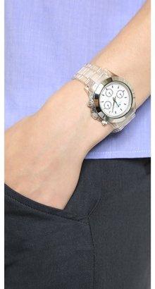 La Mer Carpe Diem Watch with Lucite Link Bracelet