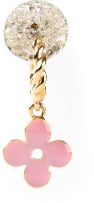 Louis Vuitton Vintage floral drop earring