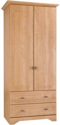 Consort Furniture Limited Berkley Ready Assembled 2-Door, 2-Drawer Wardrobe