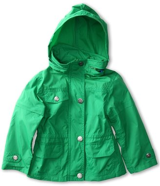 Appaman Kids - Boys' Cotton Lined Hooded Windbreaker (Toddler/Little Kids/Big Kids) (Seagrass) - Apparel