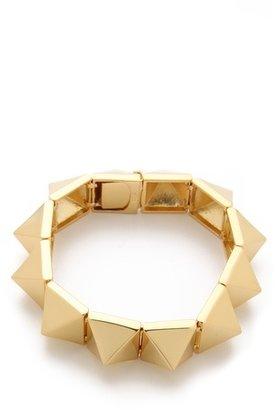 Noir Pyramid Stud Bracelet