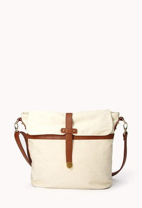 Forever 21 Everyday Canvas Shoulder Bag