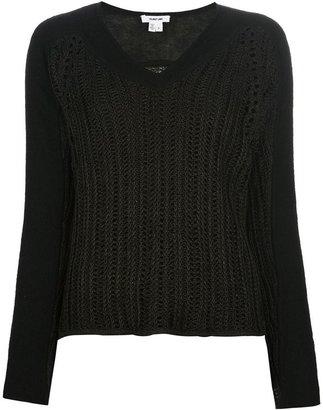 Helmut Lang 'Converging' sweater