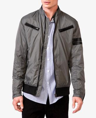Forever 21 21 MEN Zippered Ripstop Jacket