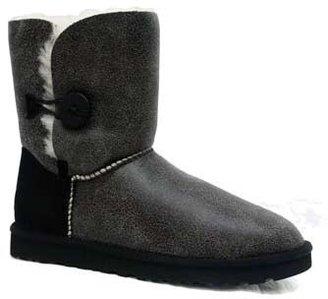 "UGG Bailey Button"" Boomer Black Boot"