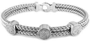 EFFY Sterling Silver & Diamond Bracelet