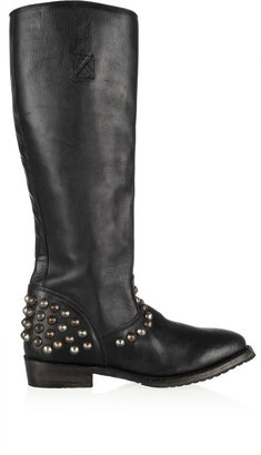 Ash Monaco studded leather knee boots