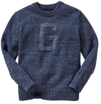 Gap Varsity logo sweater