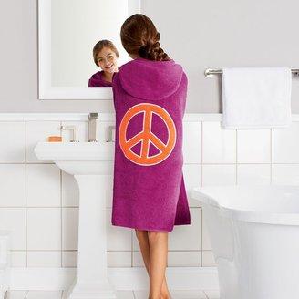 Jumping beans ® peace sign big kid bath wrap