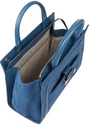 Jason Wu Daphne 2 suede and leather tote