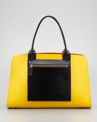 Marni Colorblock Shopping Bag