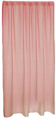 "Sleeping Partners gingham 84"" curtains - pink"