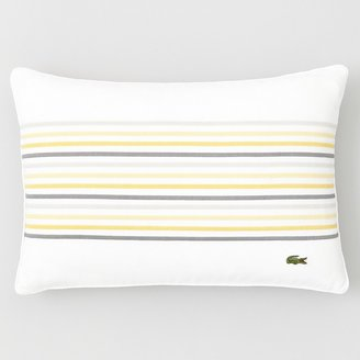 """Lacoste Alombert Embroidery Pillow, 12"""" x 18"""""""