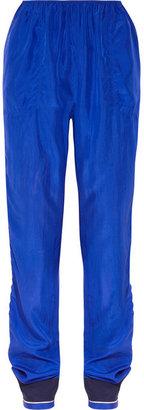 Lanvin Silk track pants