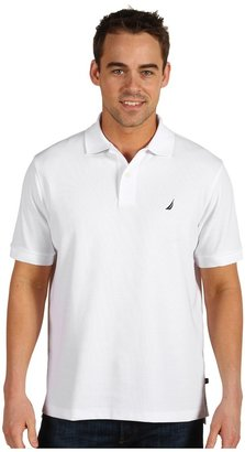 Nautica Anchor Solid Deck Shirt Men's Clothing