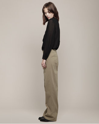 Cacharel gabardine trouser
