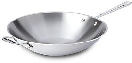 All-Clad Stainless Steel 14 Open Stir Fry Pan