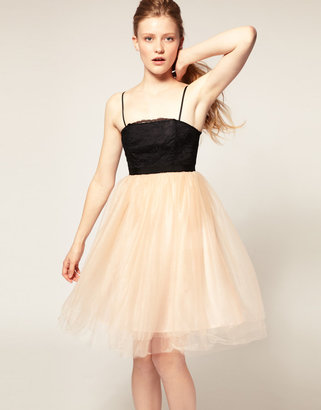 Asos Tutu Dress with Lace Bodice