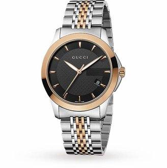 Gucci YA126410 Timeless Bi-Colour Gents Watch
