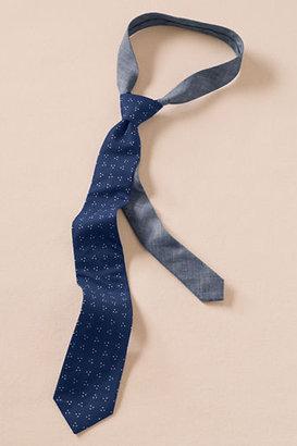 Lands' End Canvas Men's Indigo Tie