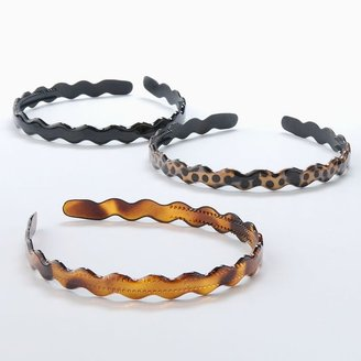 Apt. 9 3-pk. scalloped headbands