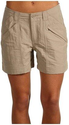 Royal Robbins Backcountry Short (Khaki) Women's Shorts