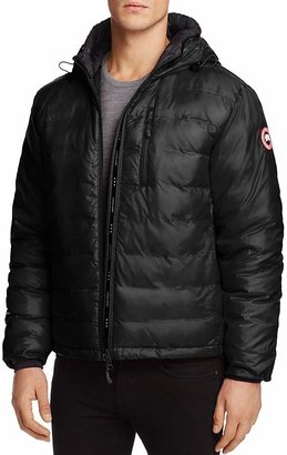 Canada Goose Lodge Hooded Down Jacket $550 thestylecure.com