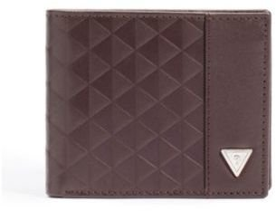 GUESS Brown Toas Passcase Wallet