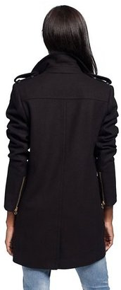 Juicy Couture Wool Oversized Moto Coat
