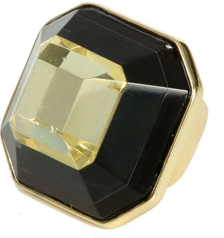 Arden B Modern Geo Faceted Stone Ring