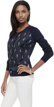 Juicy Couture Boho Paisley Cardigan