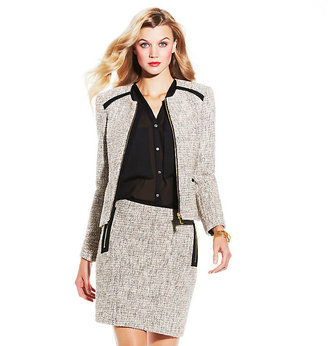 Vince Camuto Tweed Jacket