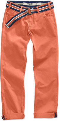 Request Kids Pants, Boys Belted Chinos