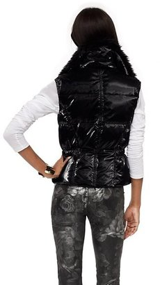 Juicy Couture Hooded Shine Puffer Coat
