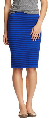 Old Navy Women's Printed Jersey Pencil Skirts