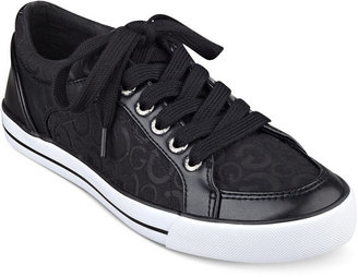 G by GUESS Oulala Lace-Up Sneakers $49 thestylecure.com